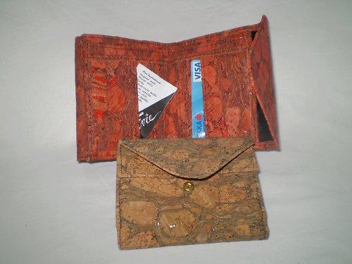 Korková peněženka - psaníčko