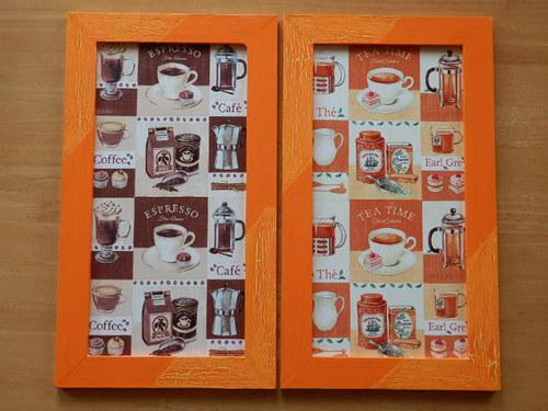 Obrázky Káva a Čaj
