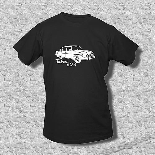 Pánské tričko pro Fandy Tatra 603