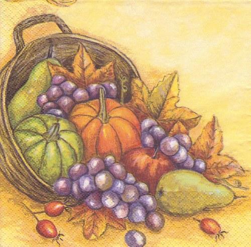 Ubrousek - hroznové víno s ovocem