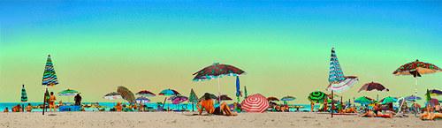Pláž - stylizace