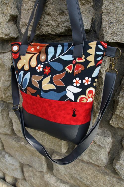 Taška s květy
