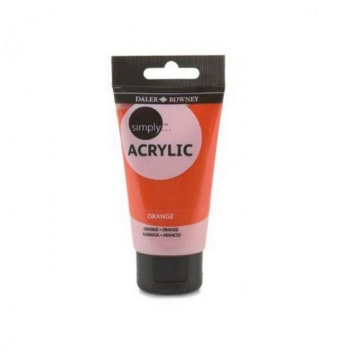 Akrylová barva DR Simply/ 75 ml / Oranžová