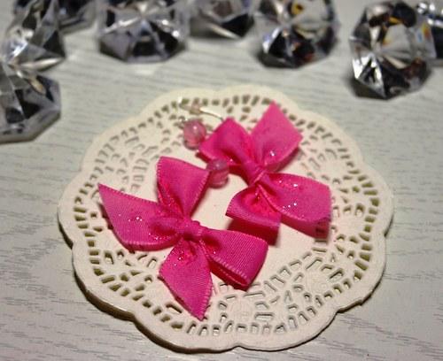Růžové mašličky
