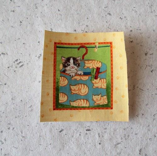 Hravé kočičky 7 - nažehlovačka