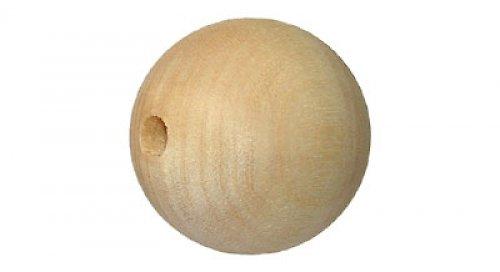 Dřevěná kulička s průměrem 4,2 cm DL367