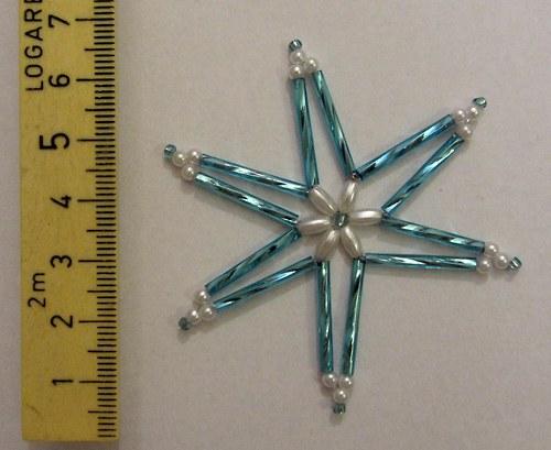 hvězda z korálků