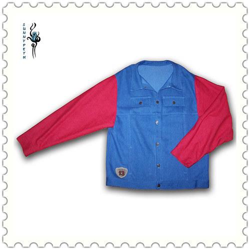 Džínová pánská bunda