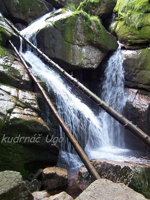 Vodopád na Bílém potoku v Jizerkách