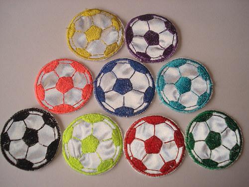 Nášivka fotbalový míč
