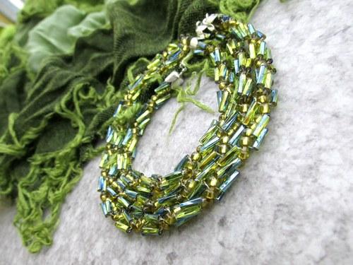 zelenkavo-modrá háďata