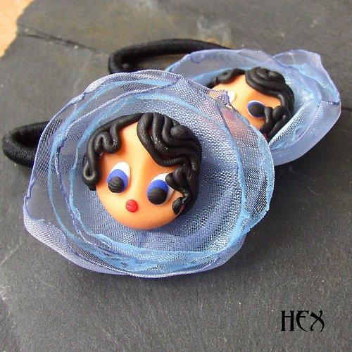 X Flowers - gumičky do vlasů