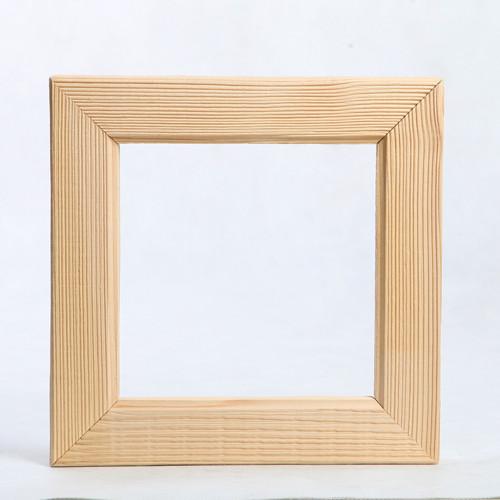Dřevěný rámeček - 23,2 x 23,2 cm