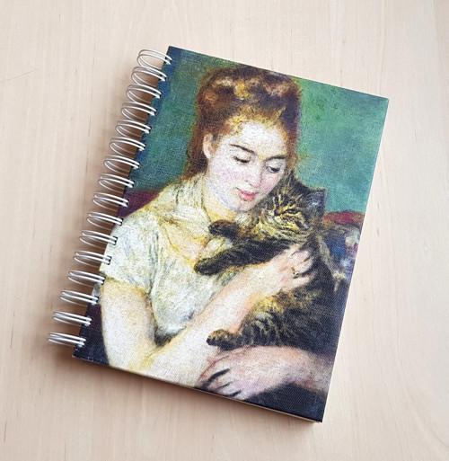 Impresionistická kočka, zápisník