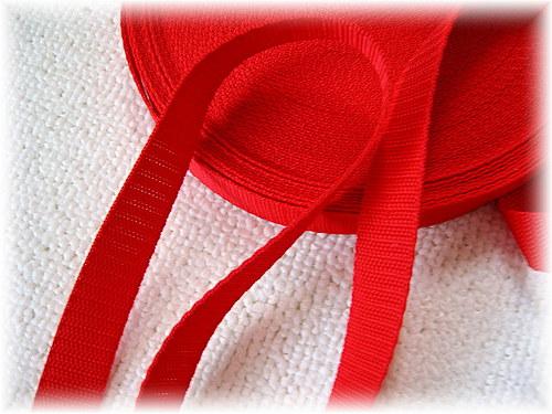 popruh červený-šíře 20 mm