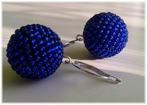 Kuličky v modrém