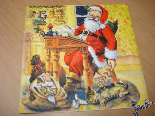 Ubrousek Santa