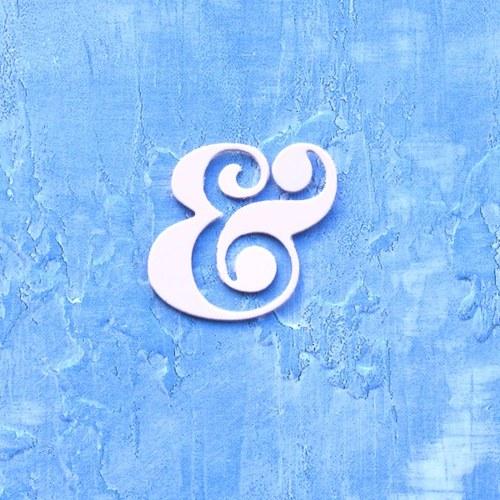 Symbol &  (ampersand) - malý kulatý