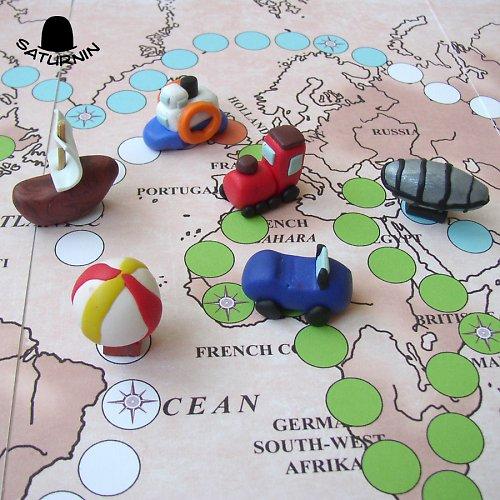 Cesta kolem světa Julese Verna - hra