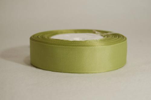 Rypsová stuha 25 mm olivová