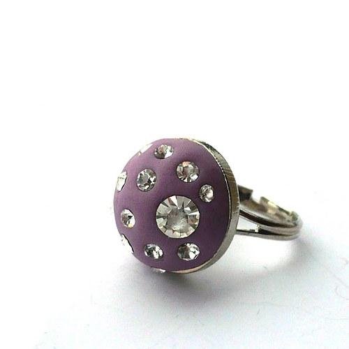 Arabelin prstýnek - fialový - 20% sleva!!