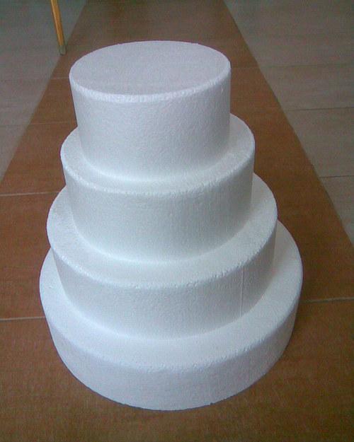 Dort kulatý čtyřpatrový - polystyren