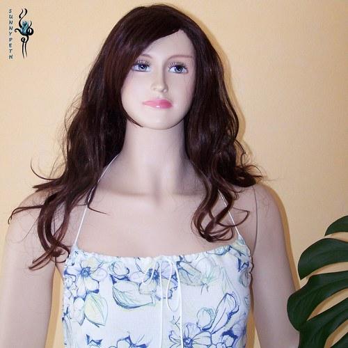 "Šaty ,,Blue Flowers Romance\""-SLEVA"