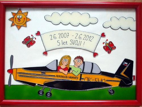 Svatební - v letadle :-)
