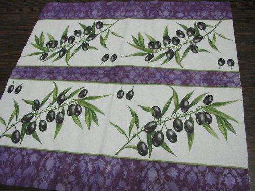 Ubrousek - velké olivy