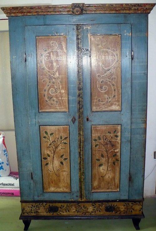 starožitná malovaná skříň ......sleva z 35.520,-Kč