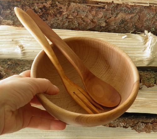 Buková miska - na studené i teplé pokrmy-16cm