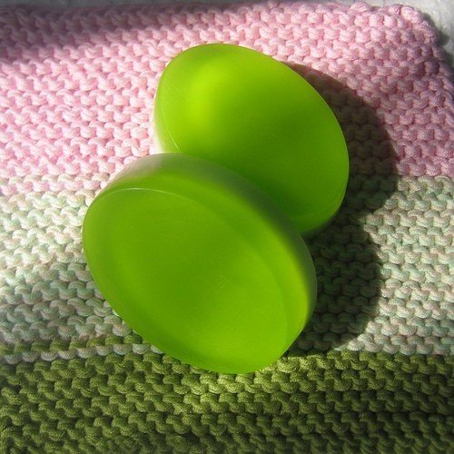 Výživné mýdlo s mátou a limetkou_ovál