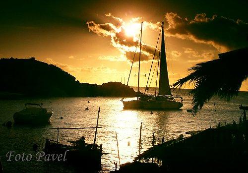 Romantický večer u moře na Ibize
