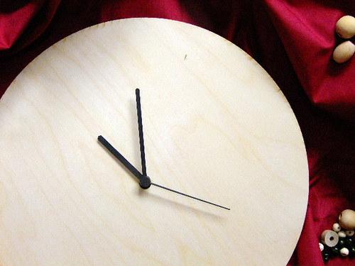 HODINY 20 cm - polotovar i s hodinovým strojkem