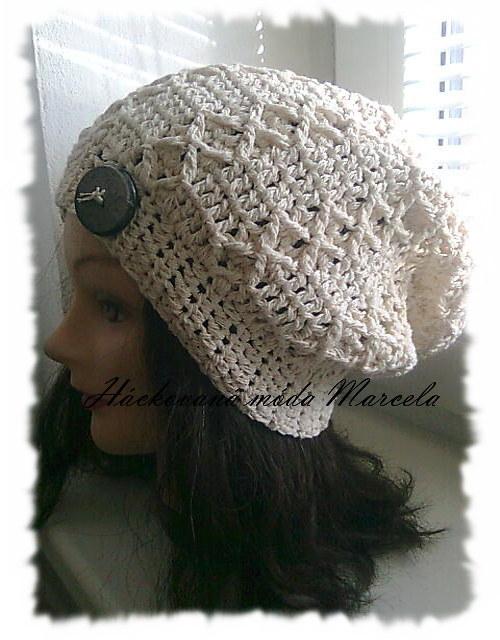 houmles-prodloužená čepice pro dámy