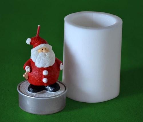 Forma na čaj. svíčku - Mikuláš se zvonečkem