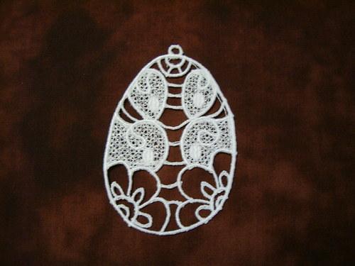 Kraslice EE01 - bílá