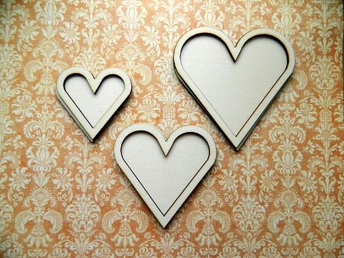 Srdce dvojité - střední 8,5cm