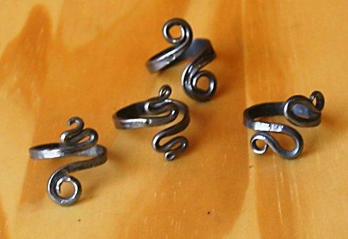 Prsteny kované