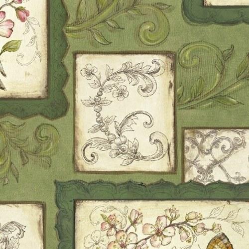 Papillon zelená galerie
