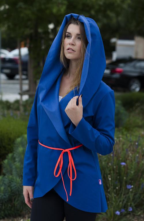 Cardigan Softshell Blue