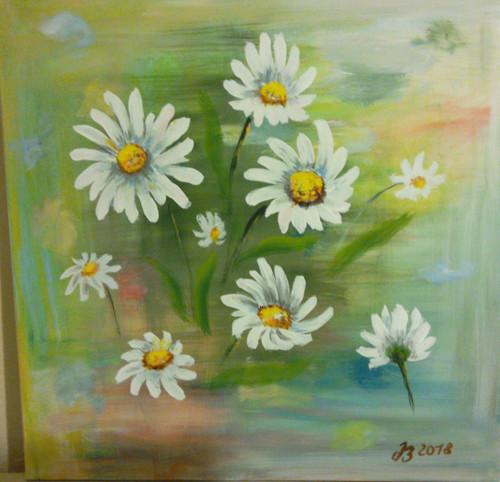 Ručně malovaný obraz
