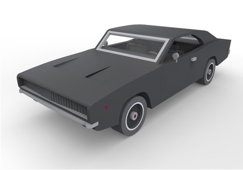 Modely aut | Dodge Charger 1968