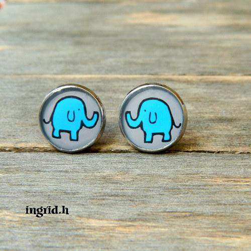 Náušničky Sloni