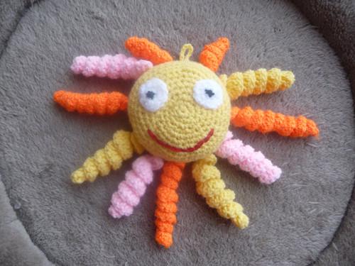 Sluníčko do ruky
