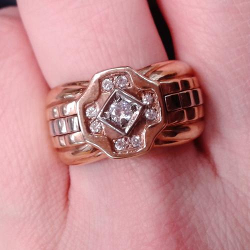 Pánský královský prsten