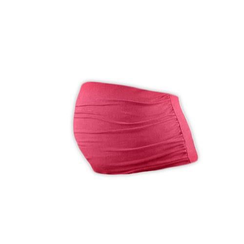 Těhotenský pás lososově růžový