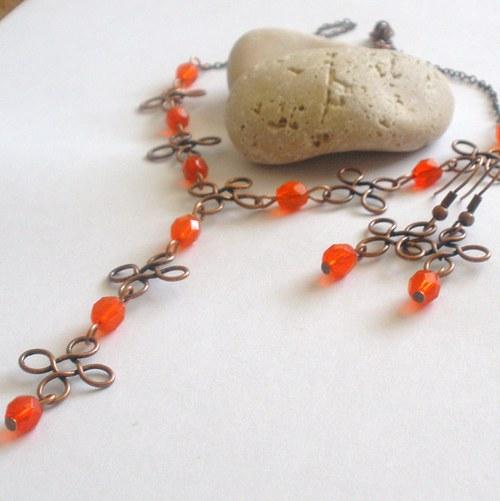 Čtyřlístková oranžová