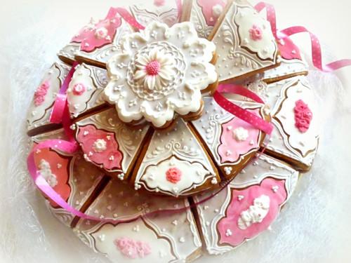 Svatební dort - velký poschoďový, dílkový