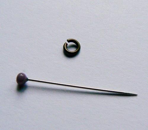 Spojovací kroužky mosazné 10ks
